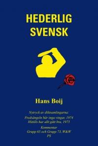 Hederlig svensk