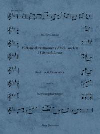 Folkmusik-traditioner i Floda socken