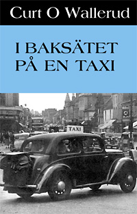 I baksätet på en taxi
