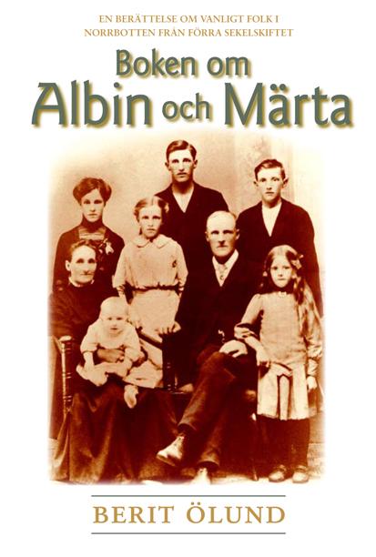 Omslag till Boken om <P>Albin och Märta