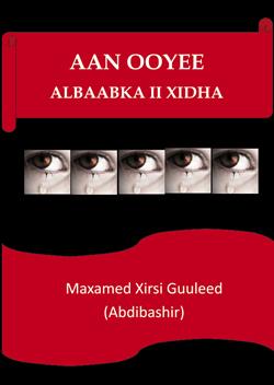 Omslag till Aanooyee albaabka ii xidha