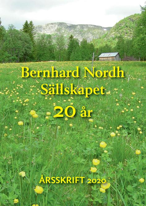 Omslag till Bernhard Nordh-sällskapet 20 år