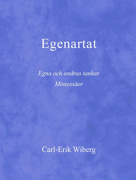 Omslag till Egenartat