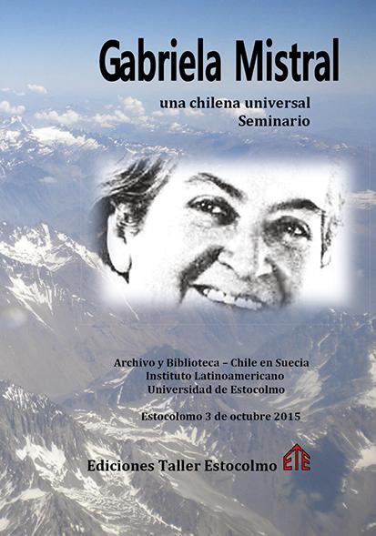 Omslag till Gabriela Mistral
