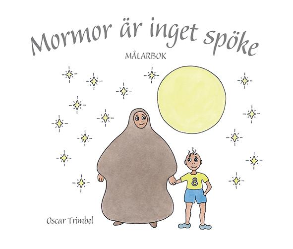 Mormor är inget spöke – målarbok