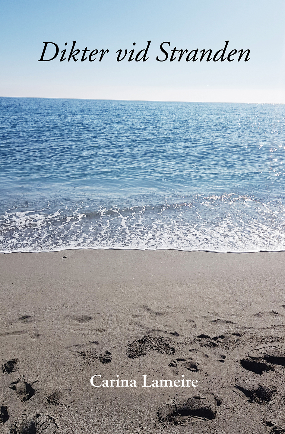 Omslag till Dikter vid stranden